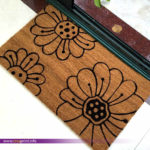 Flowers Coco Mat