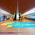 Metro Floor Sticker