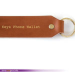 key phone leather
