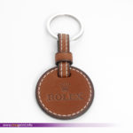 rOLEX lEATHER kEYCHAIN