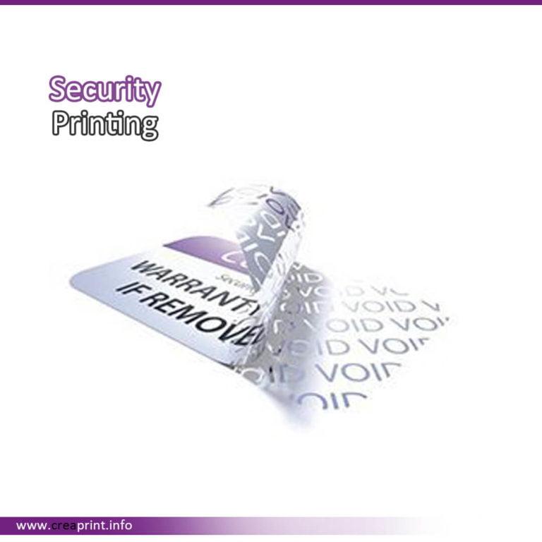 Security Hologram Label