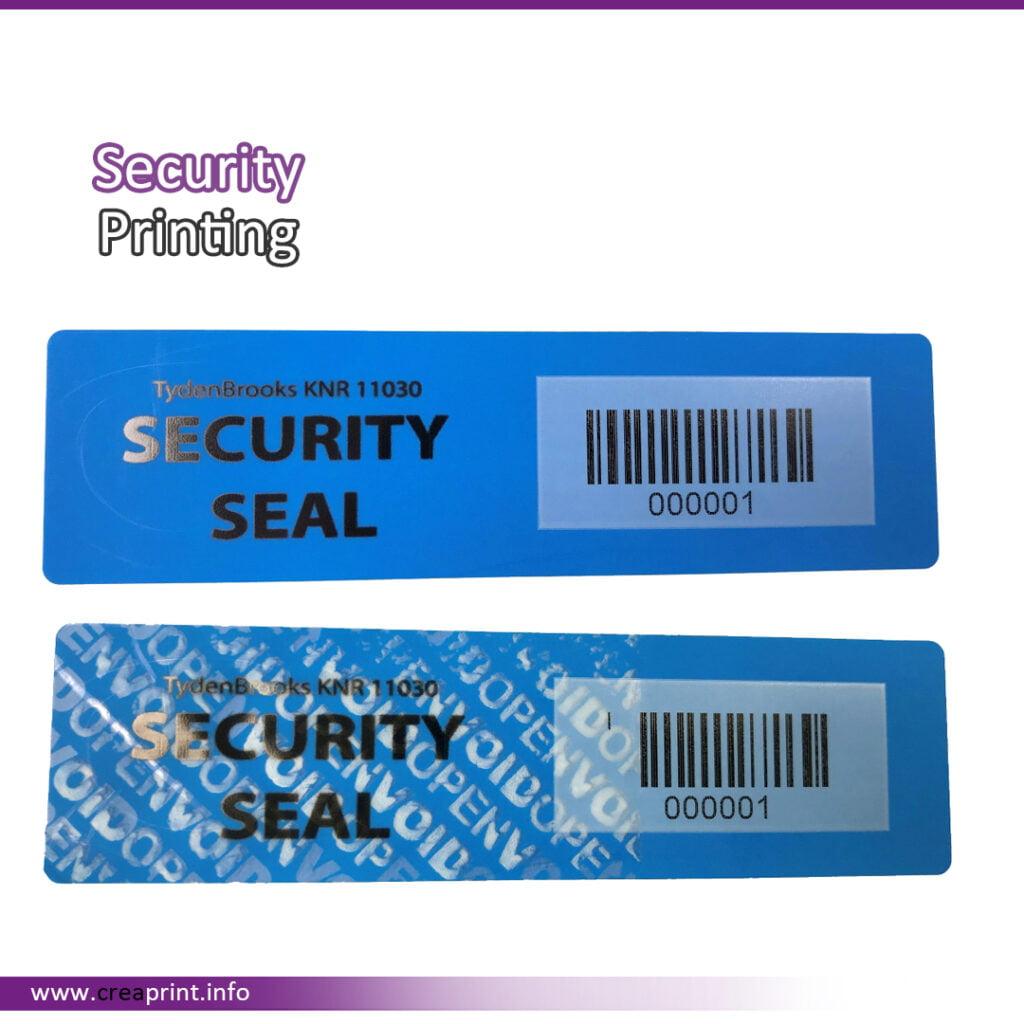 Security Sticker
